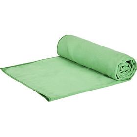 CAMPZ microvezel handdoek L groen